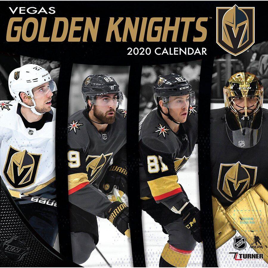 Vegas Golden Knights 2020 16 Month Wall Calendar Vegas Golden Knights Golden Knights Nhl