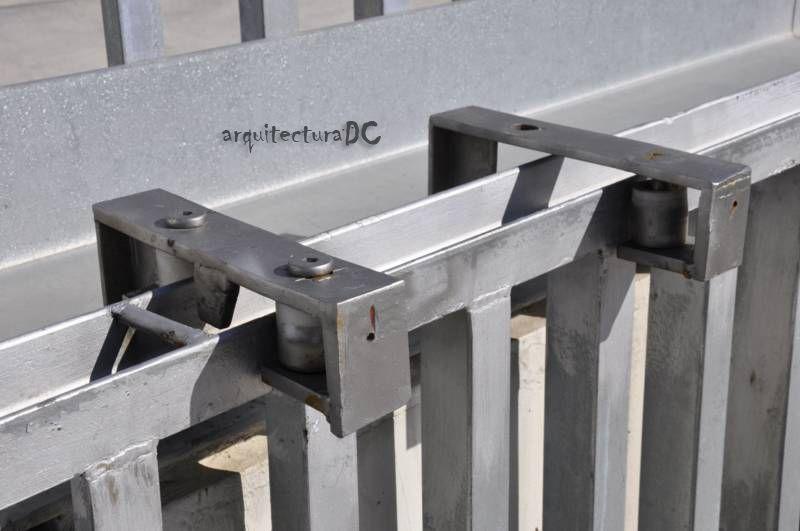 Resultado De Imagen Para Detalle Puerta Corredera Metalica Detail - Puerta-corredera-metalica