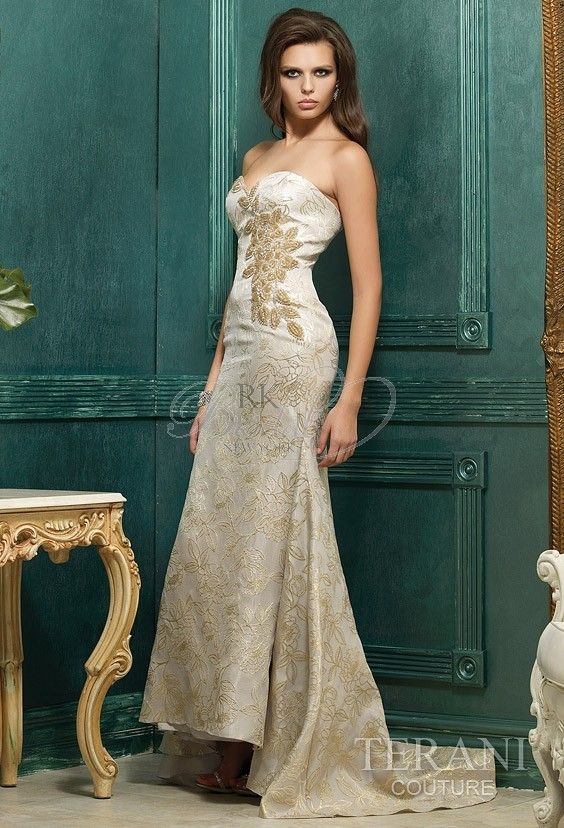 Terani Couture - Style 95380E 💟$670.00 from http://www.www.idealgown.com   #mywedding #couture #style #weddingdress #bridalgown #terani #bridal #wedding
