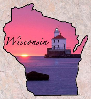 "Wisconsin  Entered the Union: May 29, 1848 (30)	Capital: Madison Origin of Name: From the Cheppewa Indian word ""Ouisconsin""	believed to mean ""river that meanders through something red."" State Nickname: Badger State	State Motto: Forward State Tree:Sugar Maple	State Flower: Wood Violet State Dog: American Water Spaniel	State Bird: Robin State Wildlife Animal: White-tailed Deer	State Animal: Badger State Domestic Animal: Dairy Cow	State Fish: Muskellunge State Insect: Honey Bee	State Grain…"