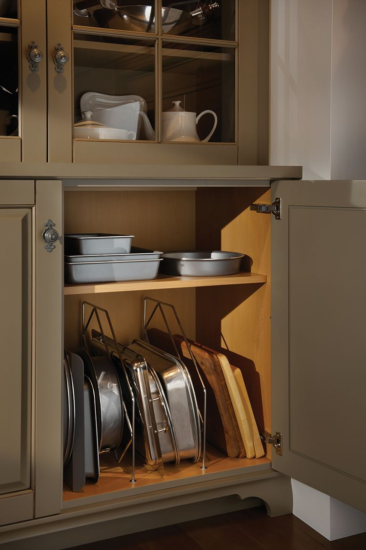 Wire Tray Partitions, As Shown In The Stonehill Kitchen By #WoodMode.
