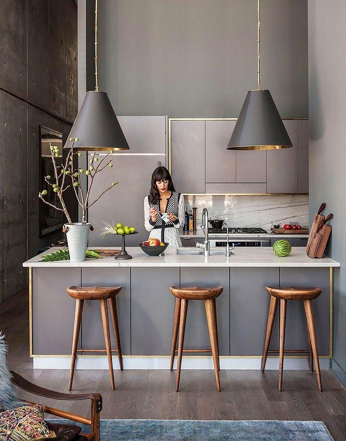11 Trends to Try in Your Next Kitchen Renovation | Barhocker, Küche ...