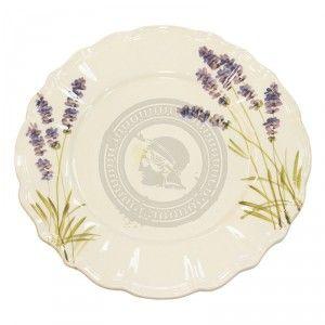 Levendulás lapos tányér - Ft3,199