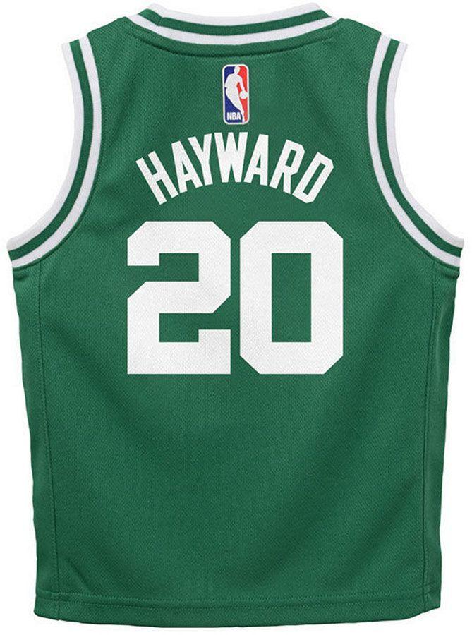 quality design cae13 18c66 Gordon Hayward Boston Celtics Icon Replica Jersey, Toddler ...
