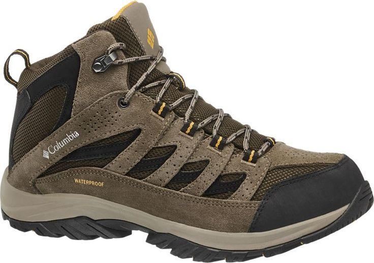 Herren columbia Trekking Schuh Der braune Trekking Schuh von