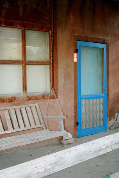 Doors in the town Cerillos New Mexico