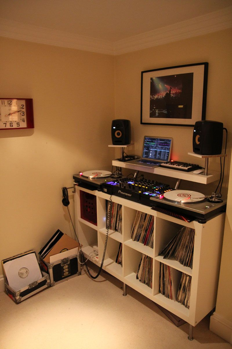 Max One\'s Set Up Evolution | Dj stuff | Pinterest | Arbeitszimmer ...