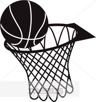 29+ Basketball hoop and ball clipart info
