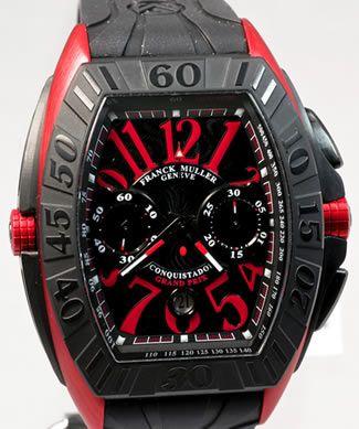 3d1433f3904 Franck Muller Conquistador Grand Prix 9900 CC GP ERGAL Chronograph  Reference No  9900 CC GP