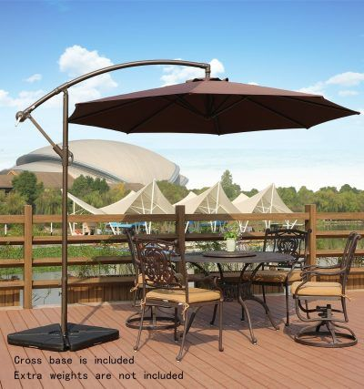 Buyer Guide Of Offset Patio And Cantilever Umbrellas   TheZ7