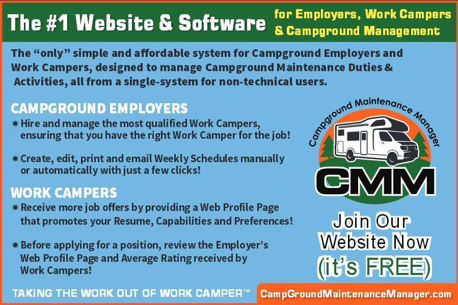 if you are an owner manager of just one or more campgrounds, the - campground manager sample resume