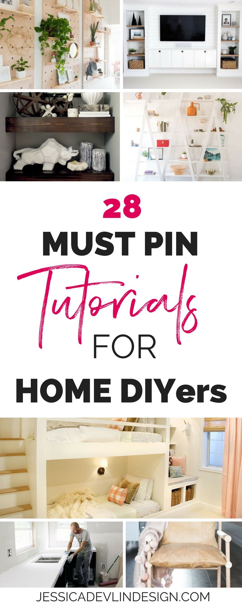 7 Of The Best Diy Home Decor Tutorials Jessica Devlin Design Home Diy Home Decor Home Projects