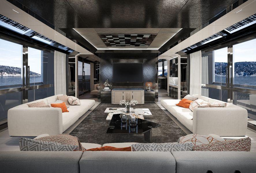 Arcadia 105 Yacht Rj Yacht Design Design Yacht Interior