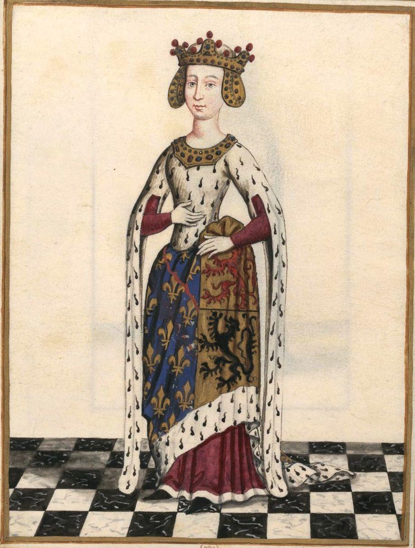 Marie de hainaut pouse de louis de bourbon gaigni res 268 dessin fonds gaigni res bnf - Cabinet ophtalmologique du hainaut ...