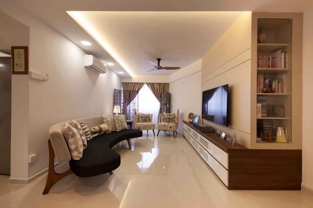 Bishan Block 201 Space Define Interior Modern Living Room Hdb Ceiling Fan Cove Li Interior Design Singapore Interior Design Interior Design Living Room