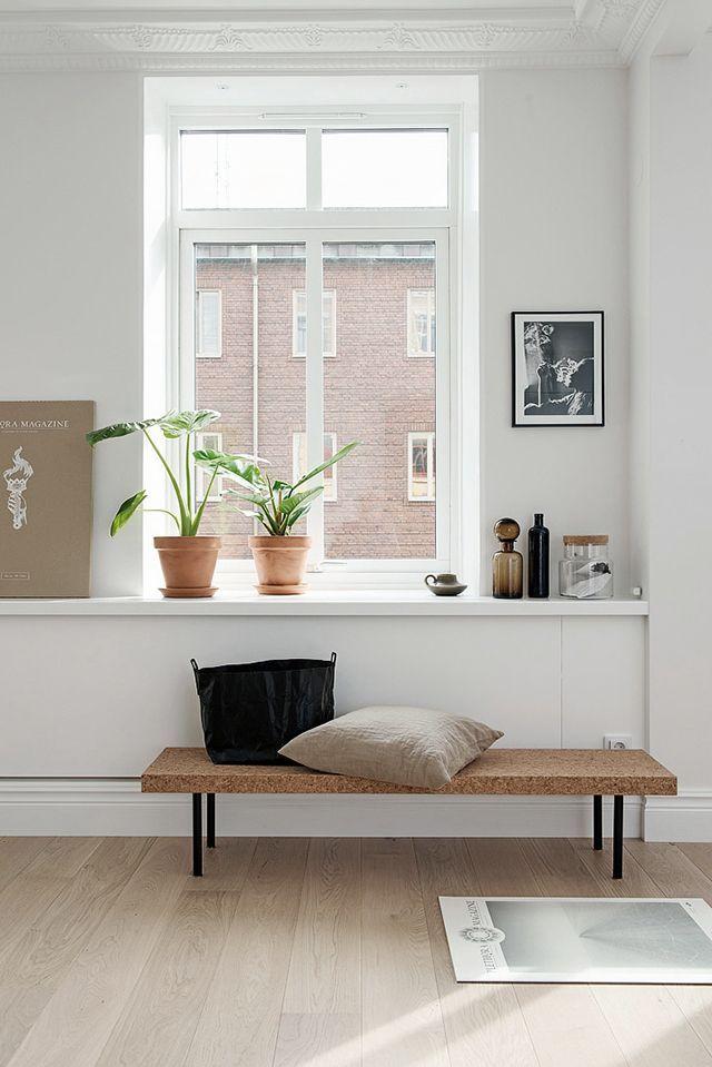 Natural Styling With Cork | Minimalist Home | Pinterest | Flure, Schönes  Leben Und Wohnen