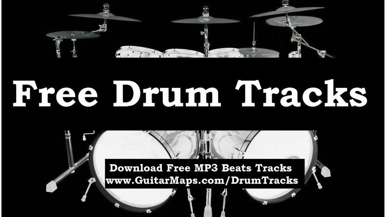 Funk groove drum beat 95 bpm bass guitar practice backing drum.