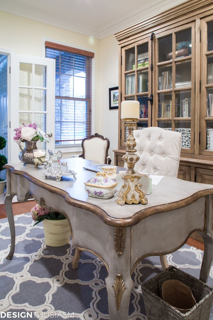 Photo of French Country Office Decor Ideas: How One Item Can Unify a Room