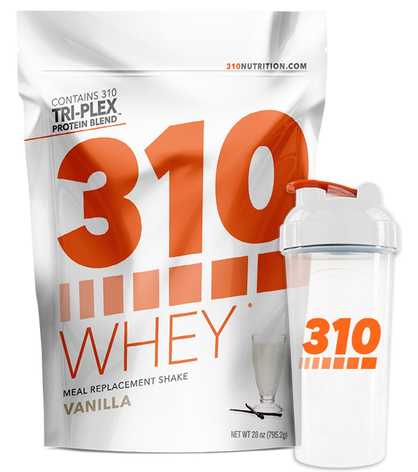 Vanilla Meal Replacement and 310 Shaker 310 Shake Whey