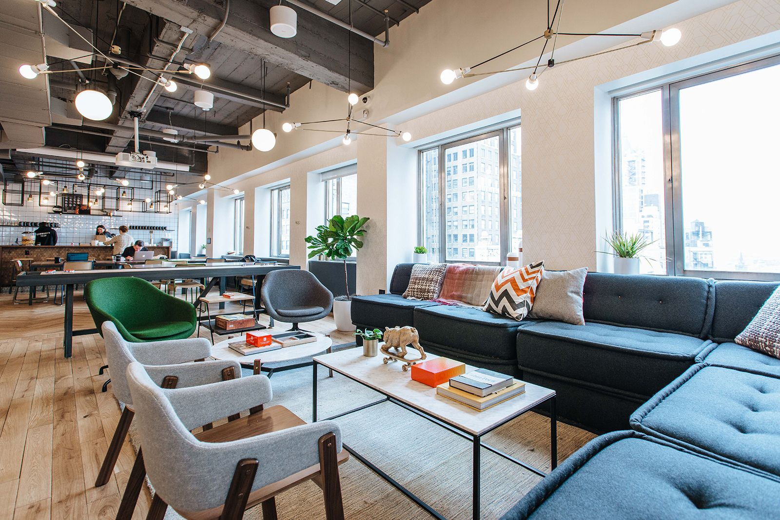 A Tour Of Wework Brooklyn Heights Office Design