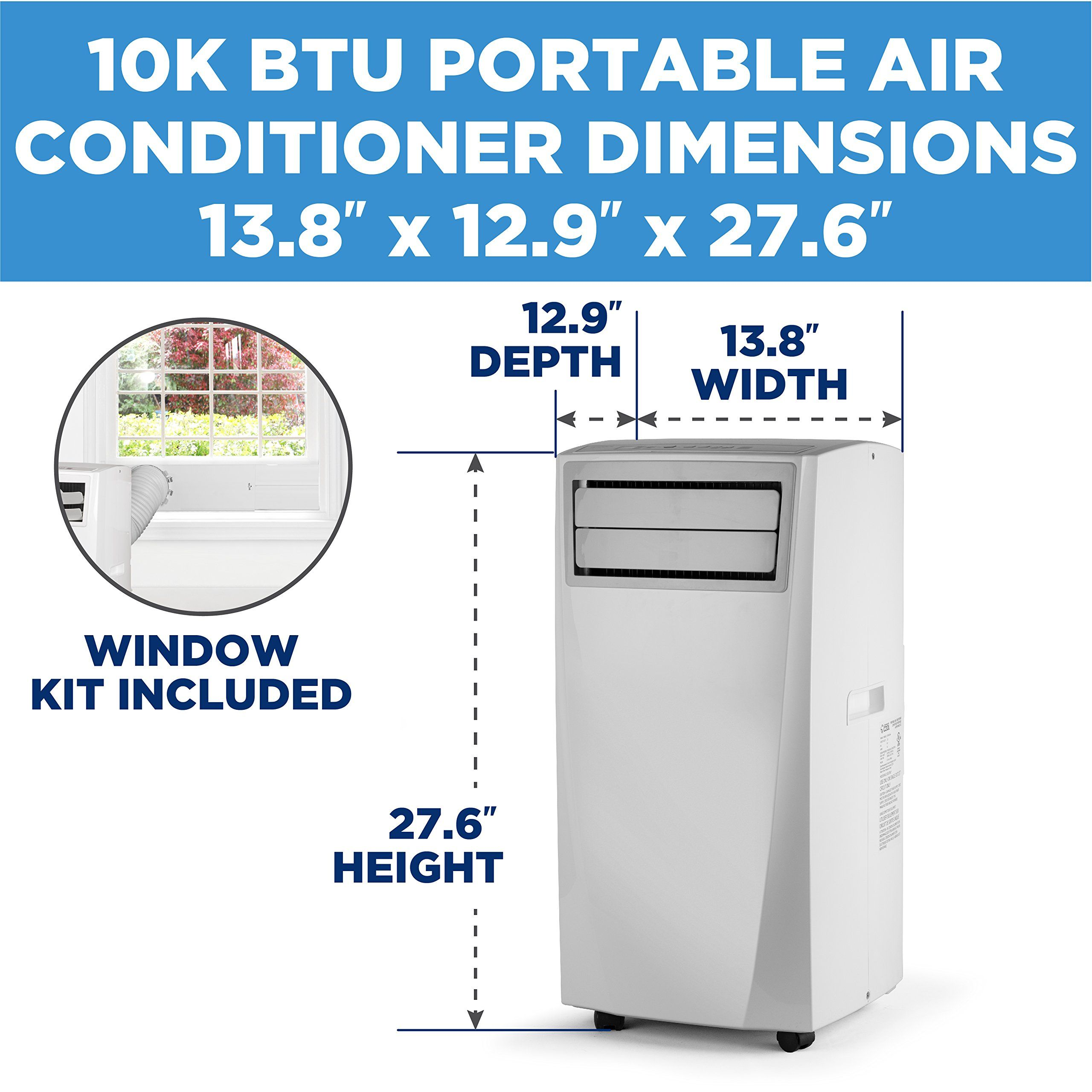 Commercial Cool Portable Air Conditioner 10000 BTU with