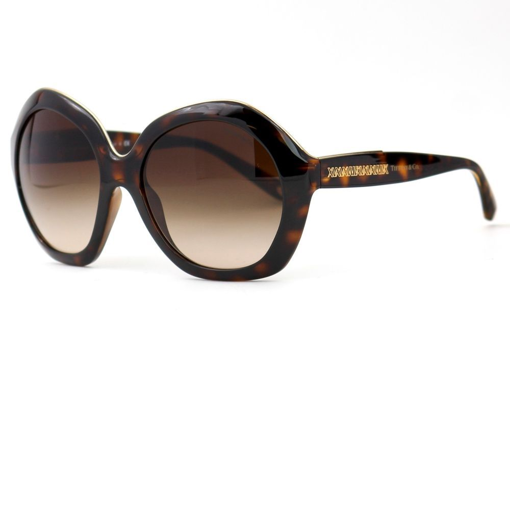 7d44f68384f Sunglasses Atlas Havana Brown with Gradient Lenses TF4116 8015 3B  TiffanyCo   Oversized