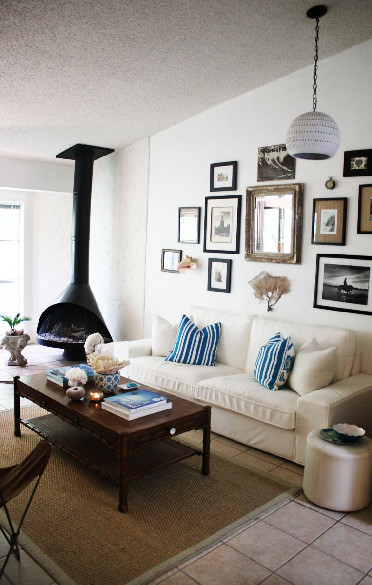 Paint colors that match this Apartment Therapy photo: SW 6258 Tricorn Black, SW 7645 Thunder Gray, SW 7041 Van Dyke Brown, SW 6081 Down Home, SW 6002 Essential Gray