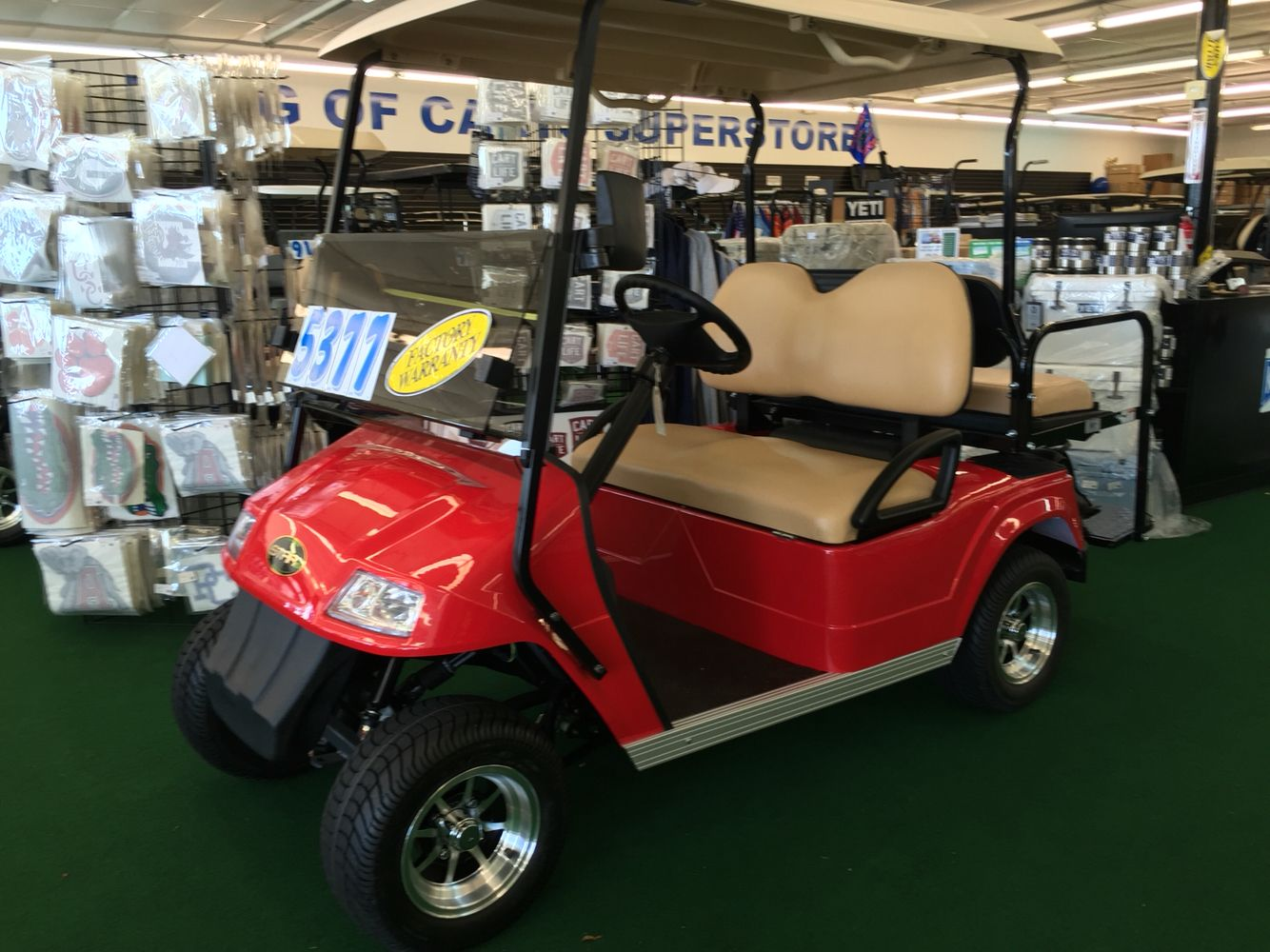 New star electric golf cart for sale greenville sc