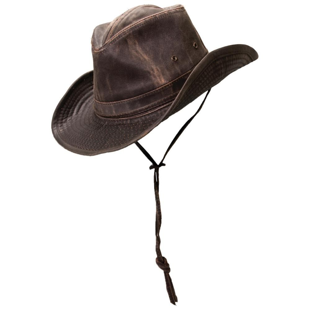Dpc Weathered Cotton Outblack Brown Hats For Men Outback Hat Mens Hats Fashion
