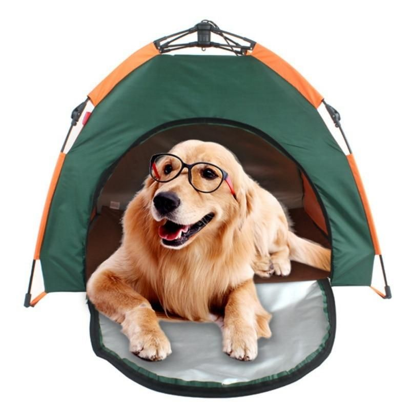 Portable Dog Travel Tents House Fold Able K9king Pet Camping