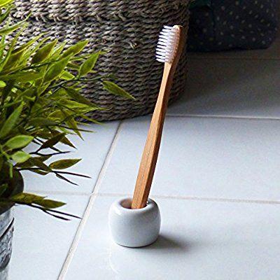 elbfjord Zahnb/ürstenhalter Keramik 1 Der ganz besondere Zahnputzbecher Sch/öner Zahnb/ürstenst/änder in skandinavischem Design Ideal auch als Pinselhalter und Stiftehalter