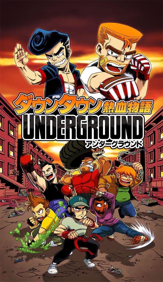 Video Game Art River City Ransom Underground