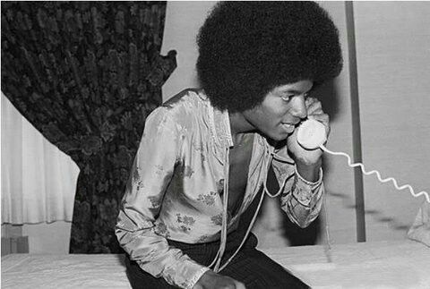 Michael on the phone