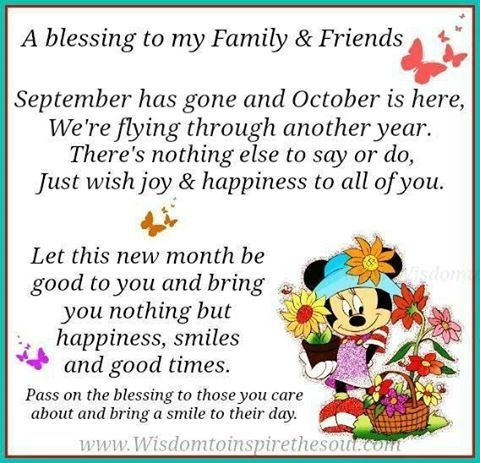 October Blessings Quotes Quote Months October Hello October October Quotes Goodbye  September