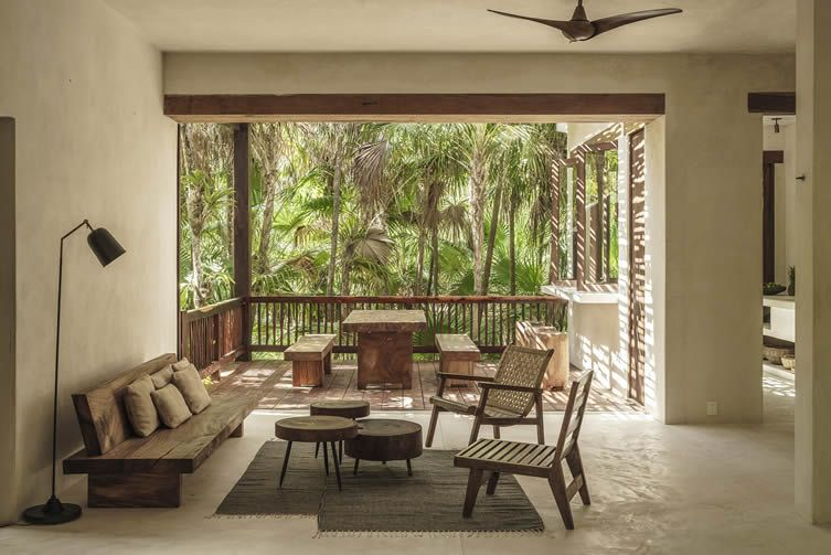 Nature Calls luxury is readdressed at the Tulum design hotel that