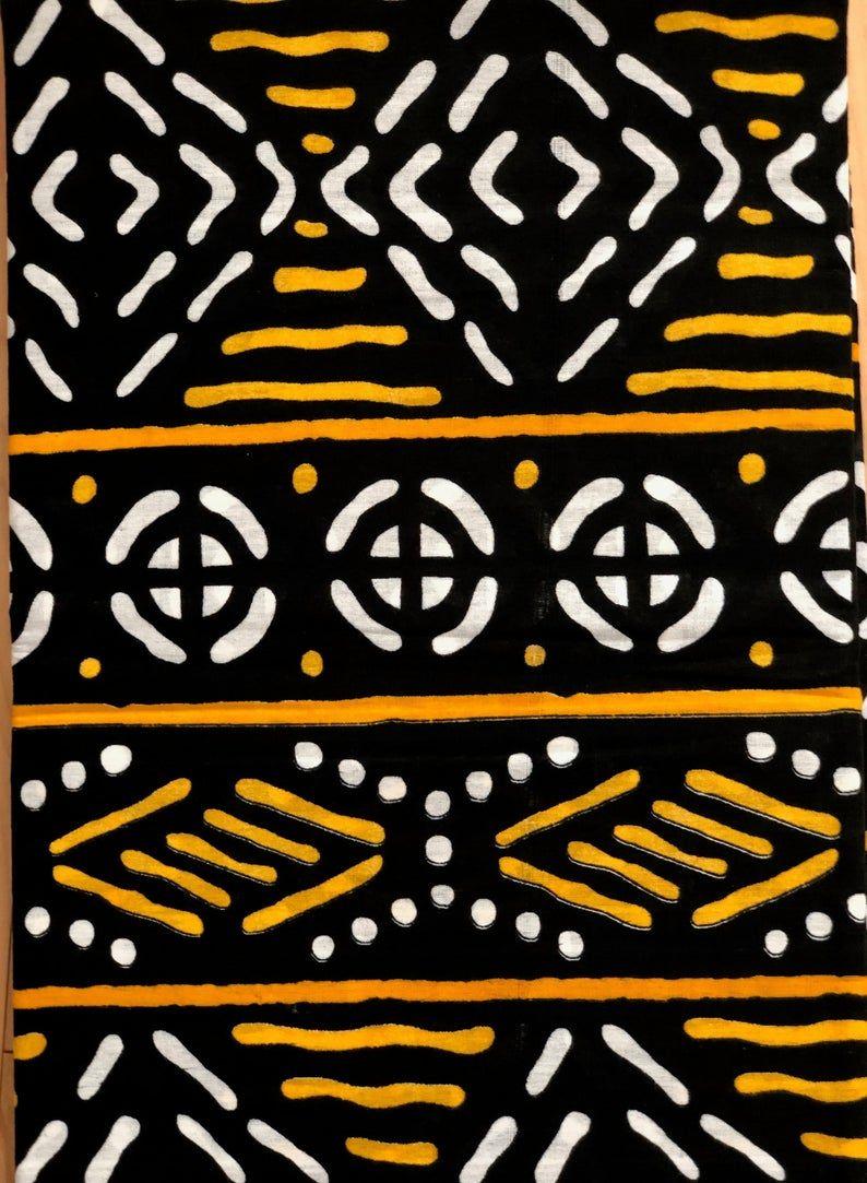 African Dress African clothing for women Ankara Fabric African Fabric By The Yard Dashiki Fabric Kuba Print Mudcltoth Print Fabric