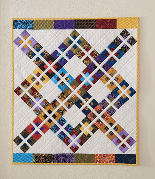 Additional Images of Gypsy Girl Mini Quilt Kit by Heather Mulder ... : miniature quilt kits - Adamdwight.com
