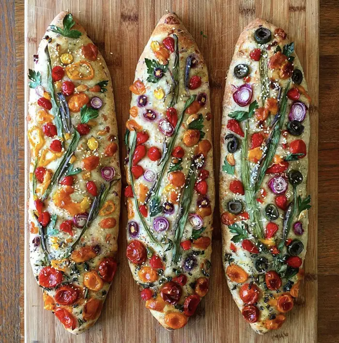 A self-taught baker makes beautiful loaves of bread that are practically works of art