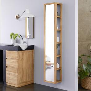 Hochschrank Teak Spiegel 30 Twig Hochschrank Badezimmer Gunstig Regal