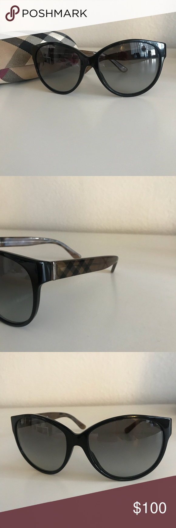 23fd50aa1a2b Burberry Sunglasses B 4088-M. Worn a handful of times. Comes with case. Burberry  Accessories Sunglasses