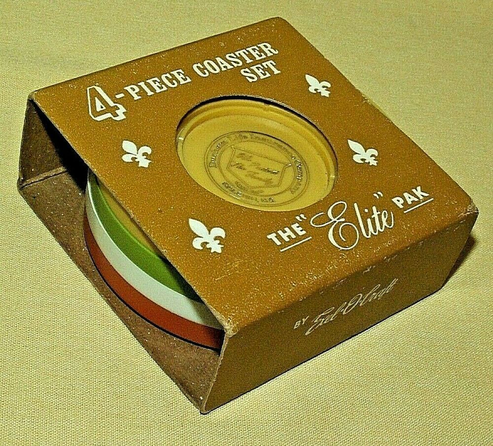 Details about durham life insurance coasters vintage exel