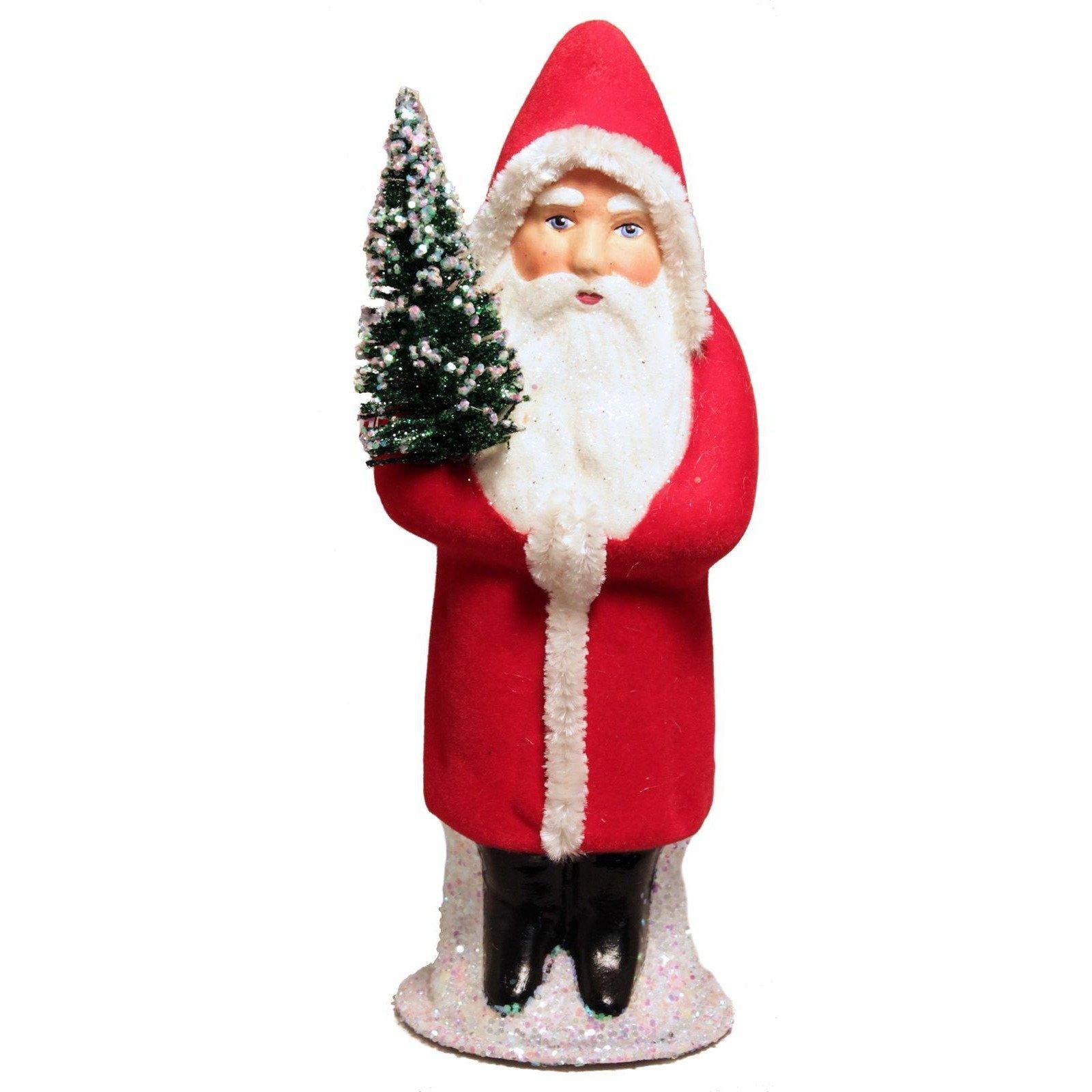 Papier Mache Santa