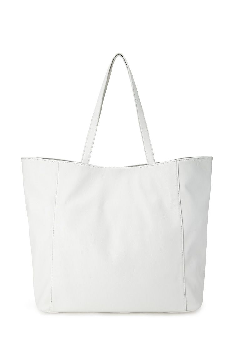 This shopper in white just screams beach bag, don't you think?