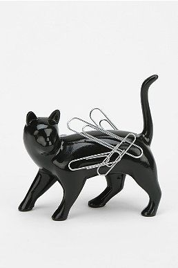 """I want this kitty paper clip holder like right """"meow."""""""