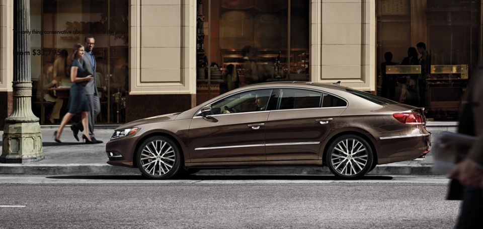 2014 VW CC The only thing conservative about the CC is