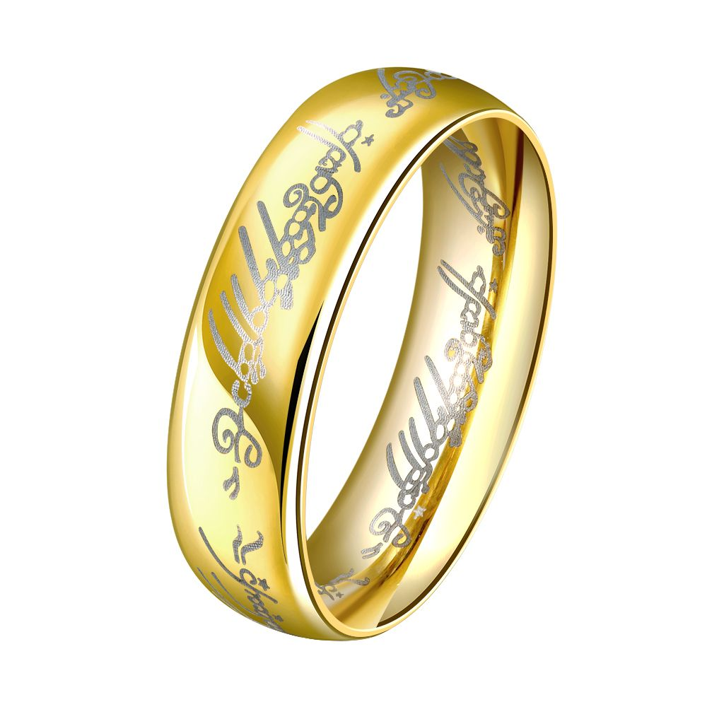 Charm Gold Simple Ring Luxury Jewelry Accessories Wholesale ...