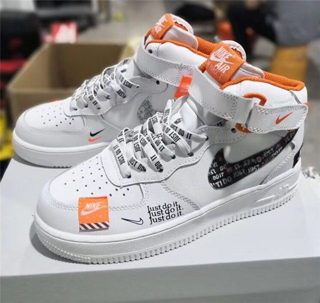 Nike Air Force 1 Just Do It Sg With Images