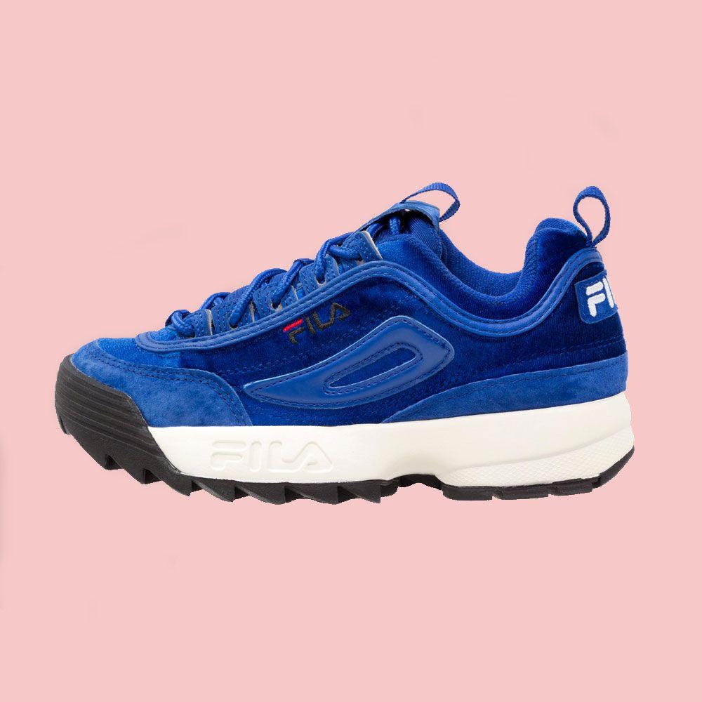 Fila Disruptor V Low W chaussures royal blue OJrvd9in5V