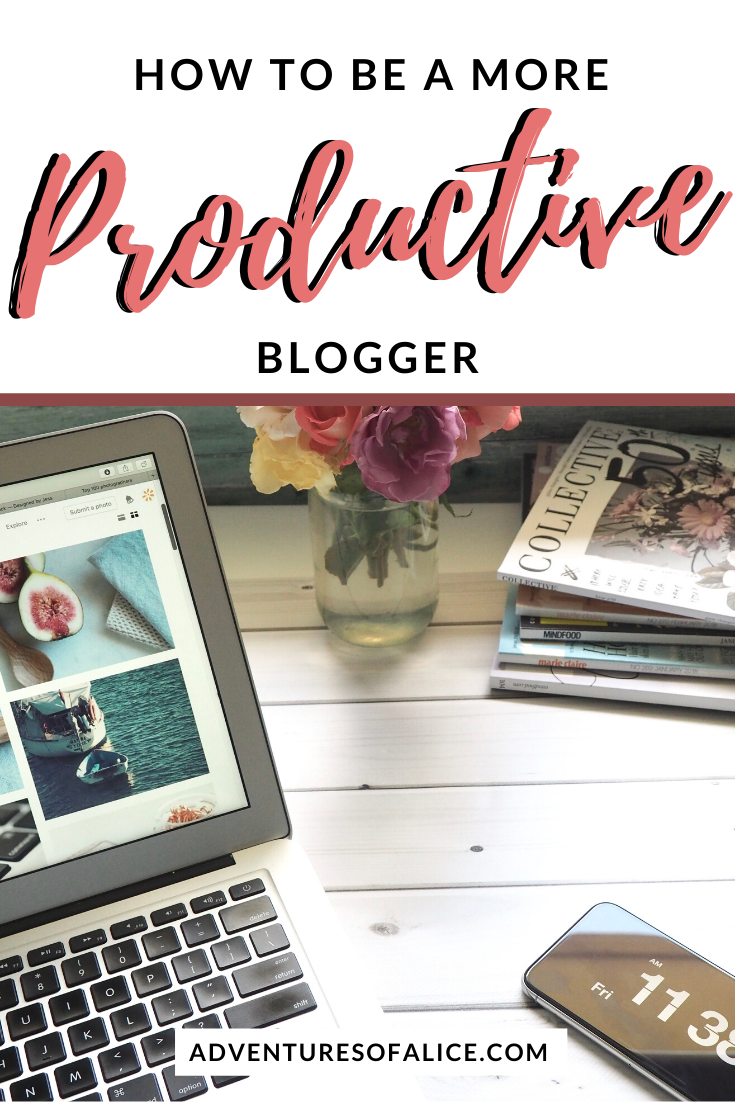 If you've been struggling to find the motivation to kick your blogging productivity into overdrive, then you'll be pleased to know that just a few small changes can make all the difference! Here are 15 simple steps to becoming a more productive blogger!  #bloggingtips #productivity #blogger #travelblog