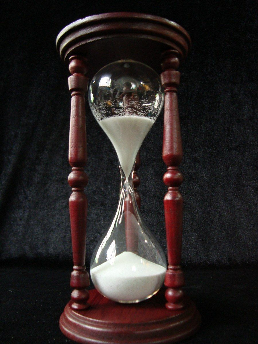 reloj de arena torneado 30 premium relojes de arena